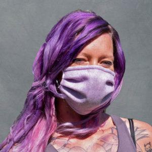 Upcycling PET-Filz Maske