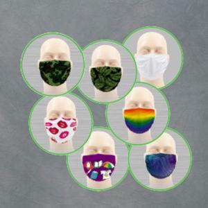 Microfaser Masken