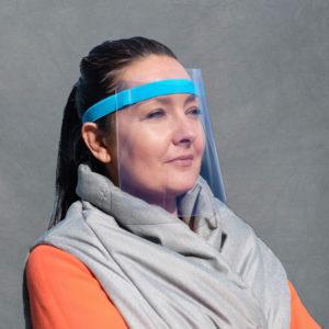 Gesichtsschutzvisier mit Elastikband